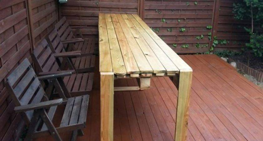Pallets Bench Plans Ideas Pallet Recycled