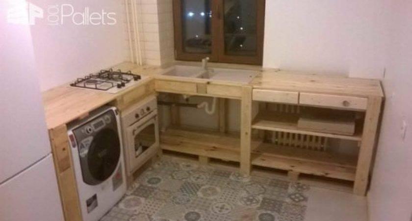 Pallets Kitchen Furniture