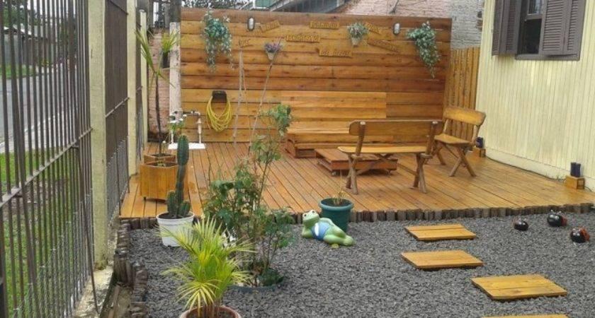 Pallets Made Garden Deck Pallet Ideas Recycled
