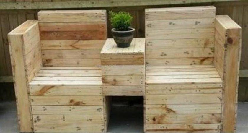 Pallets Made Outdoor Furniture Pallet Projects