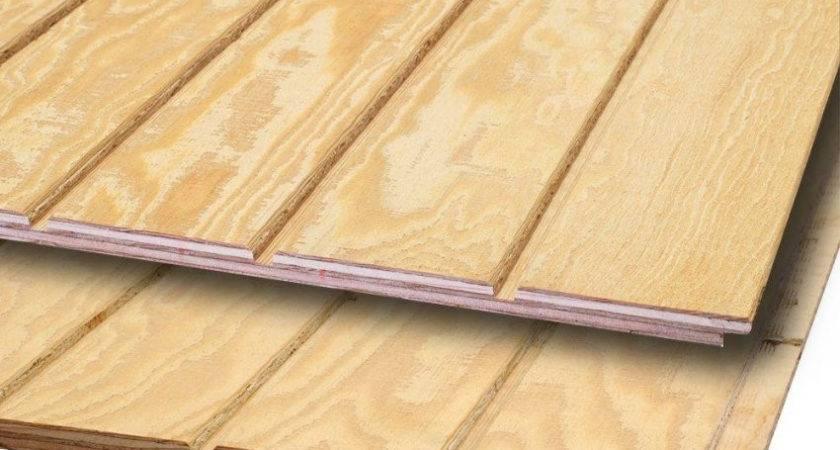 Panel Wood Siding