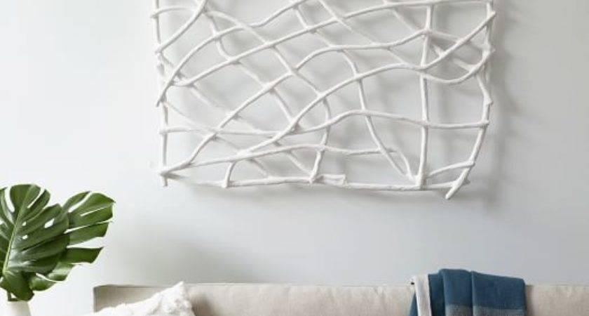 Paper Mache Wall Art Papier Geo Panel