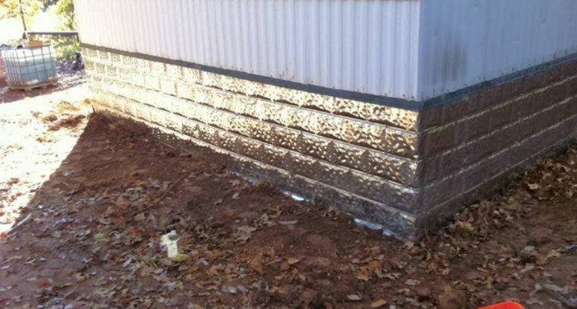 Paper Street Journal Metal Skirting Project