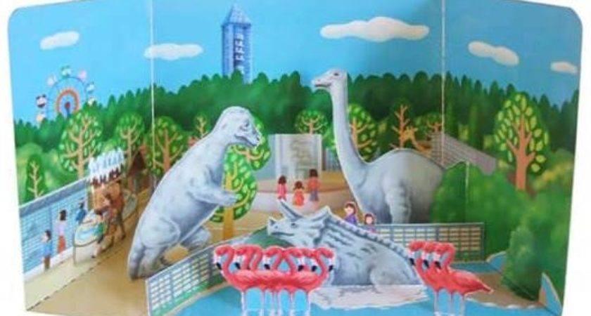 Papermau Higashiyama Zoo Botanical Garden Diorama