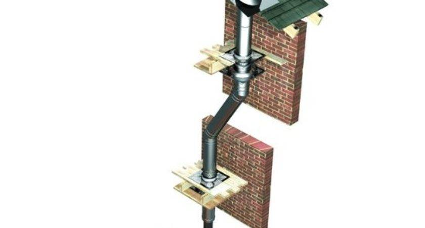 Parts Help Overcome Awkward Flue Installations