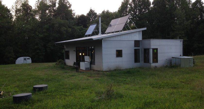 Passive Solar Off Grid Prefab House Returned