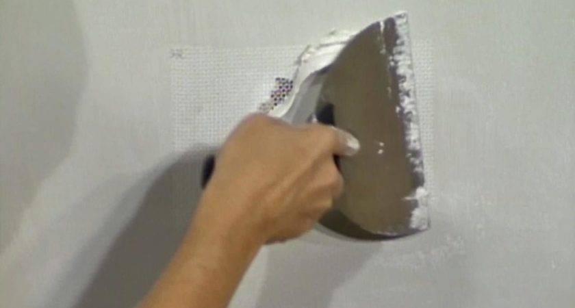 Patch Drywall Fiberglass Mesh Tos Diy