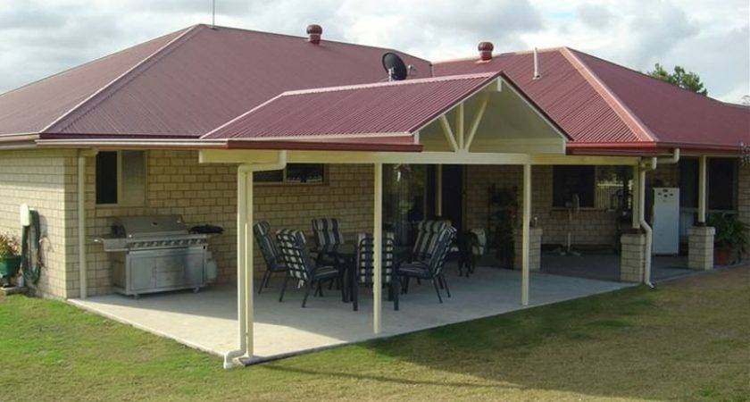 Patio Additions Hip Roof House Style Ranch Front