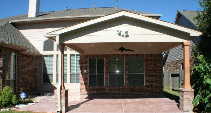 Patio Cover Houston Gable Roof Hhi Covers