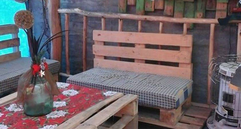 Patio Creations Out Wooden Pallets Pallet Ideas