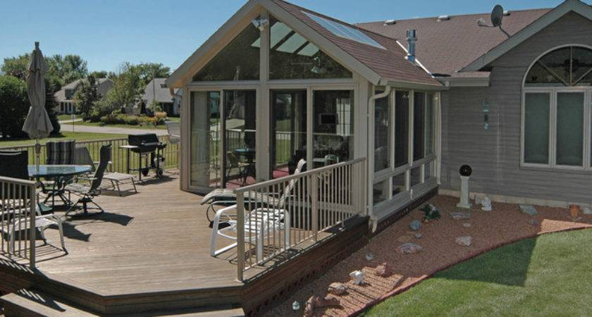 Patio Enclosures Sunroom Traditional Deck Milwaukee
