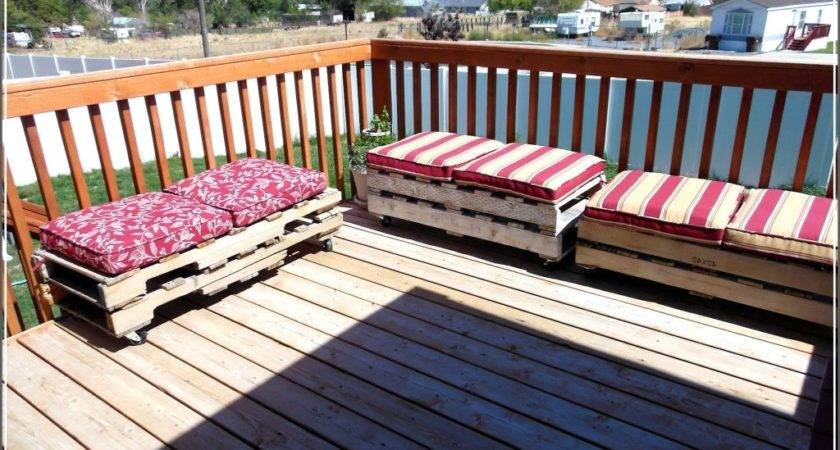 Patio Furniture Made Out Pallets Home