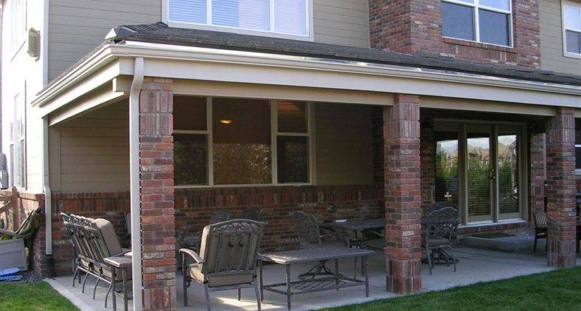 Patio Overhang Designs Solar Home Covers