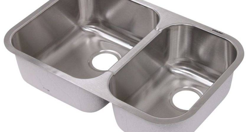 Patrick Distribution Offset Double Bowl Stainless Steel