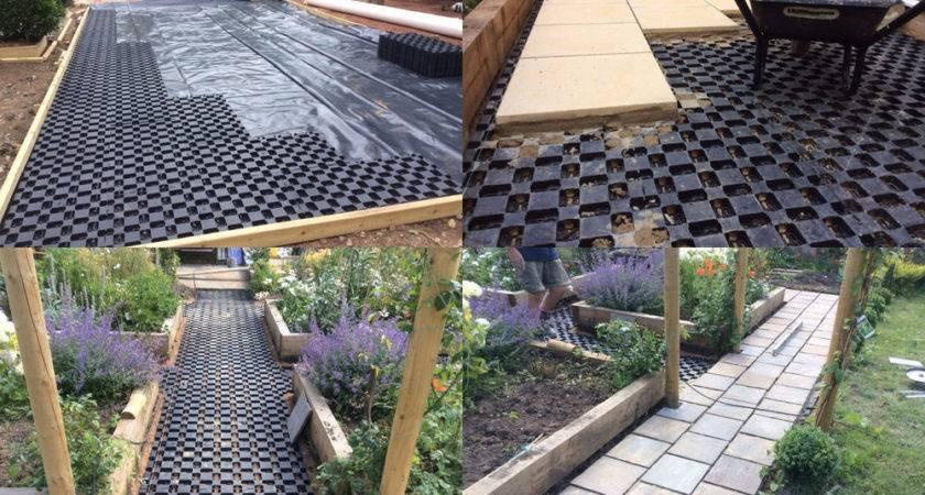 Paving Plastic Slab Sub Base Grid Paver Eco Layer