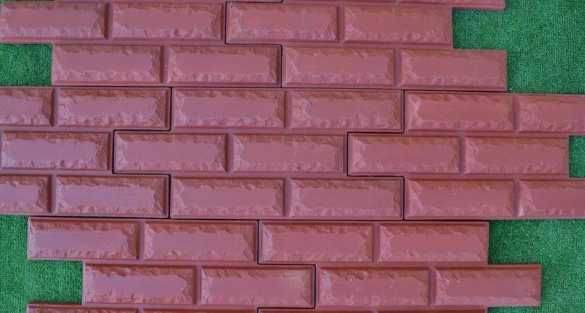 Pcs Lot Bricks Veneer Molds Artificial Texture Wall
