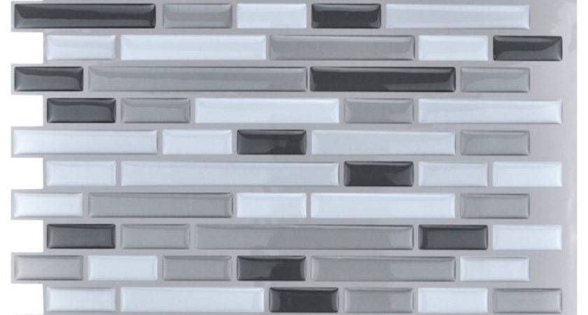 Peel Stick Kitchen Backsplash Wall Tiles