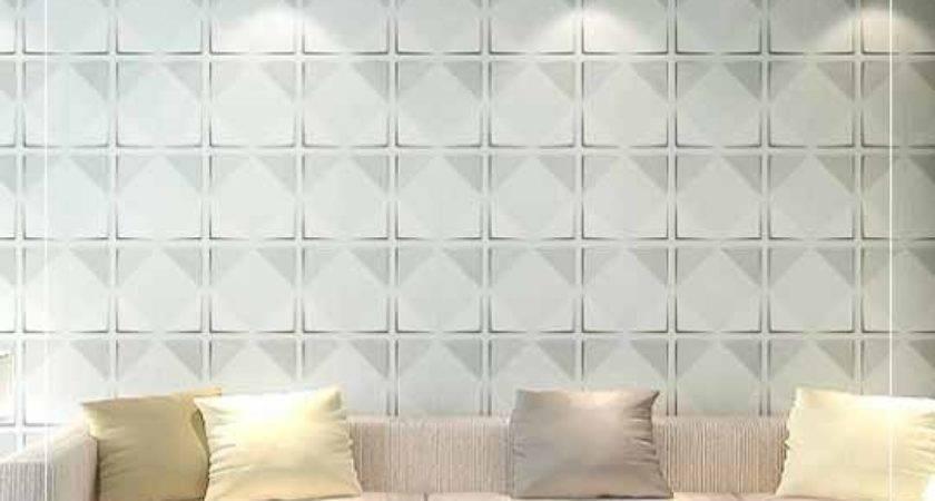 Peel Stick Plastic Wall Panel Circle Design Panels
