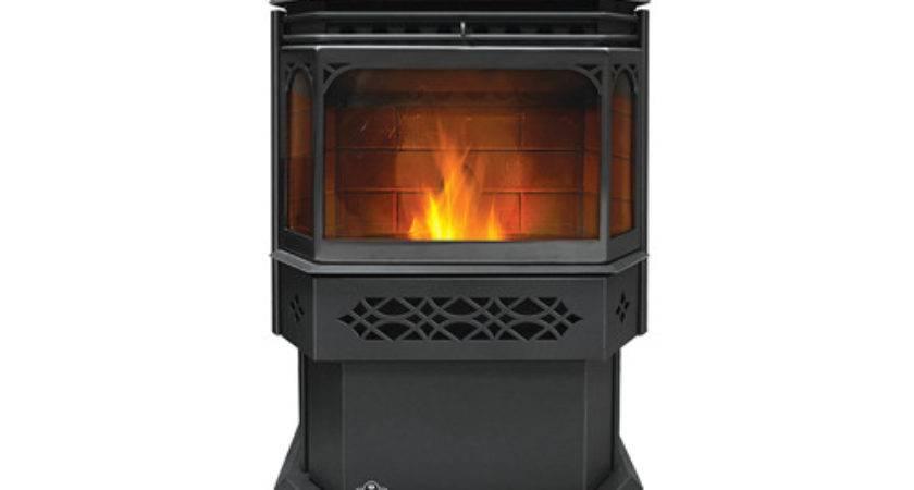 Pellet Burning Stove Eco Fireside Chimney