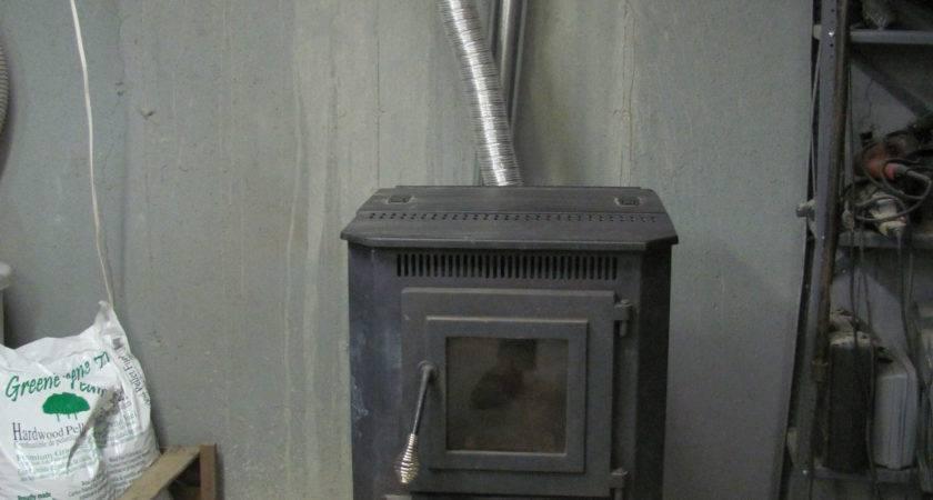 Pellet Stove Vents Flame Fuel Burning
