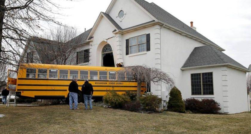 Pennsylvania School Bus Plows Into House Abc News