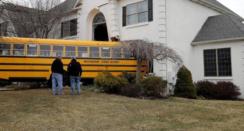 Pennsylvania School Bus Plows Into House Abc News
