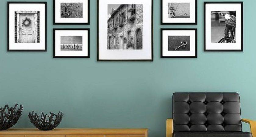 Perfect Piece Multi Wall Frame Set Black