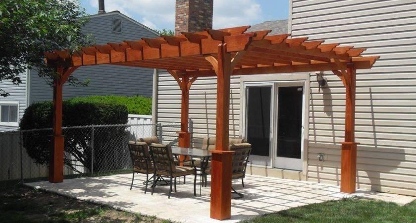 Pergola Design Ideas Backyard Back Porch