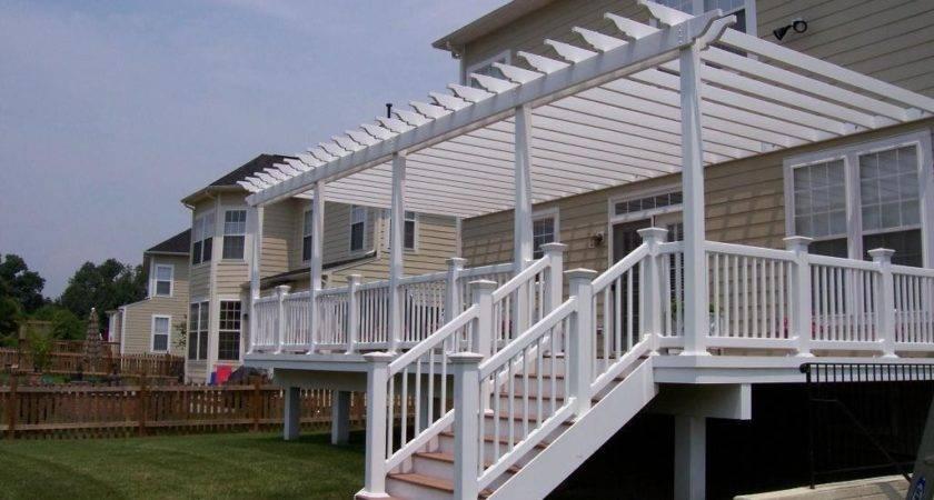 Pergola Design Ideas Over Deck Most Selected