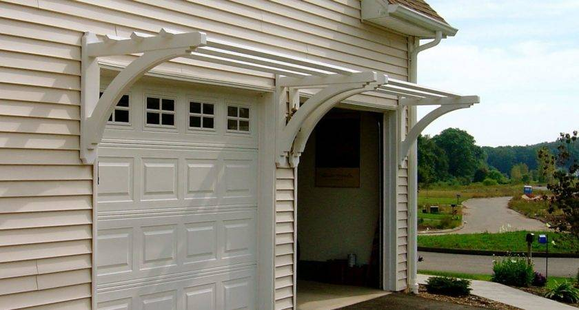 Pergola Over Garage Door Kits Design Ideas