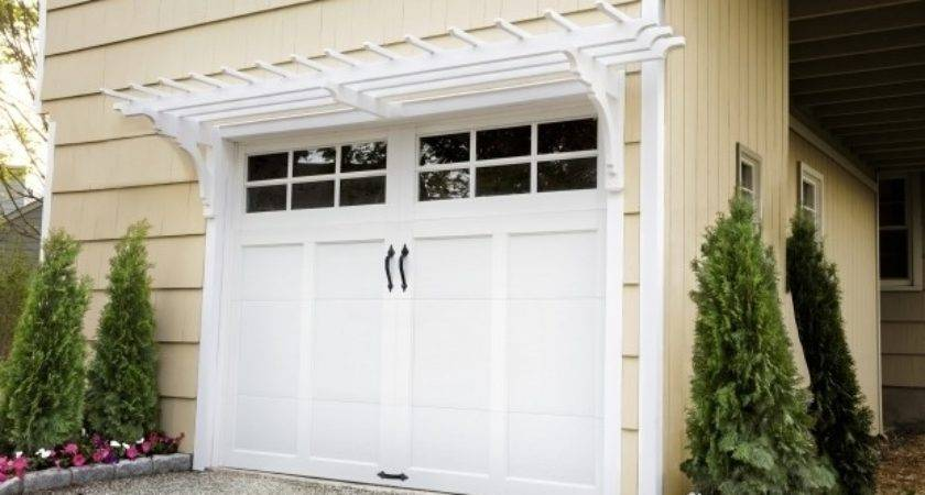Pergola Over Garage Door Plans Gazebo Ideas