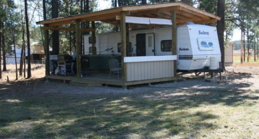Permanent Camping Annual Rental Elko British