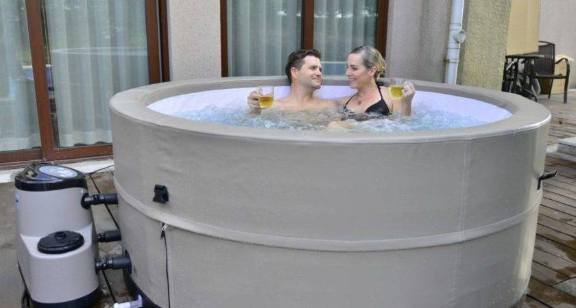 Person Portable Spa Patio Camper Travel Hot Tub