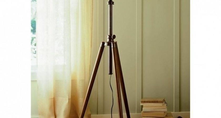 Photographer Tripod Floor Lamp Pottery Barn Photos