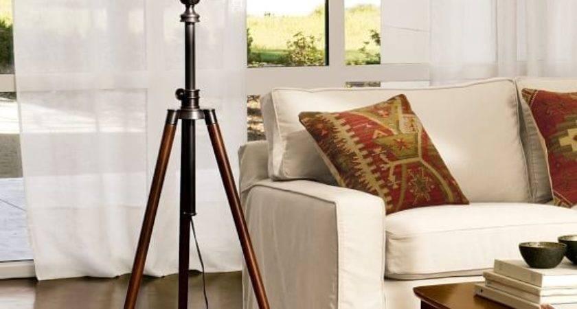 Photographer Tripod Floor Lamp Pottery Barn