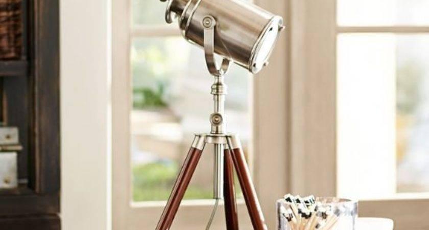 Photographer Tripod Table Lamp Pottery Barn