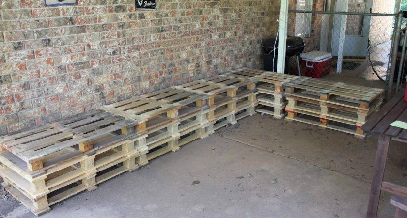 Photos Outdoor Furniture Made Pallets