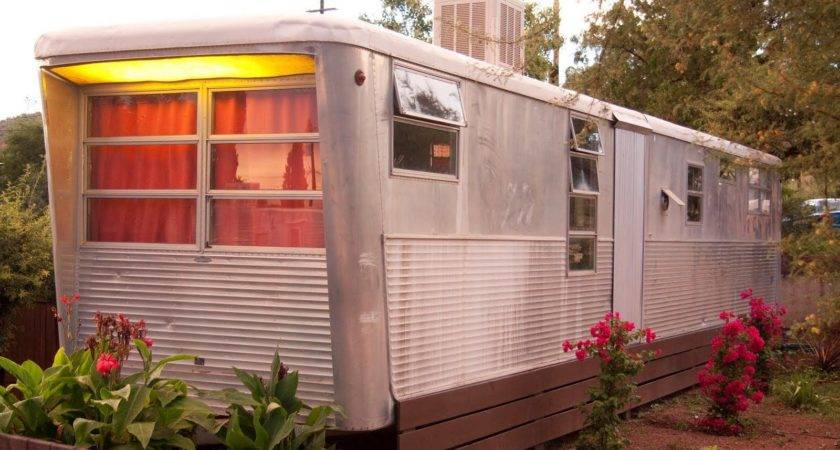 Photos Vintage Mobile Home Mean Why Not Could