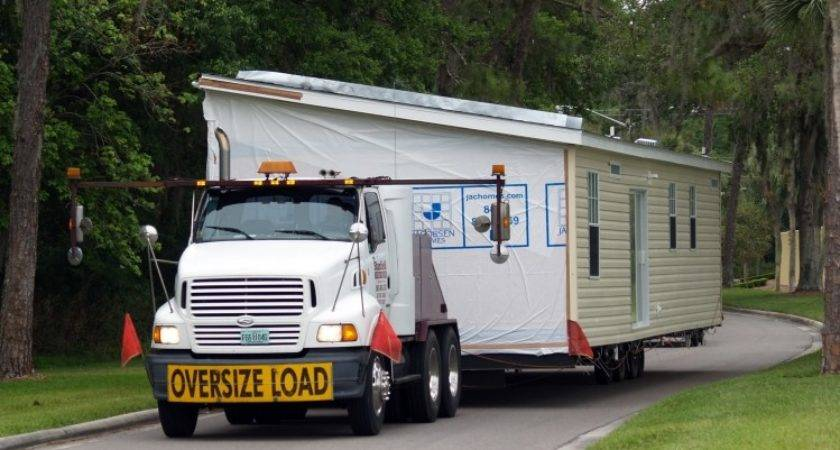 Picking Moving Manufactured Home