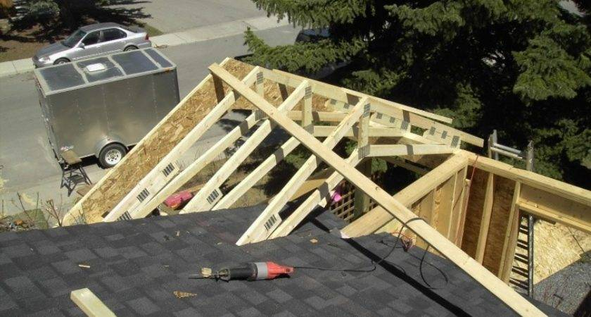 Pics Gable Roof Addition Framing