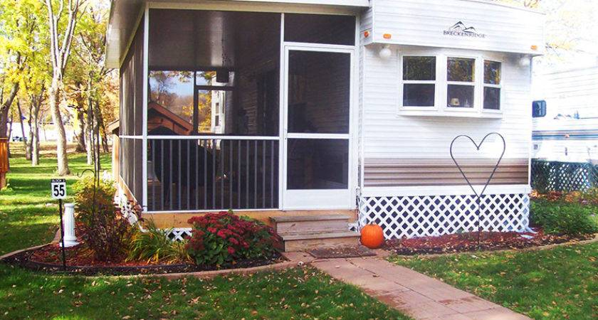 Pics Screened Porches Mobile Home Joy Studio