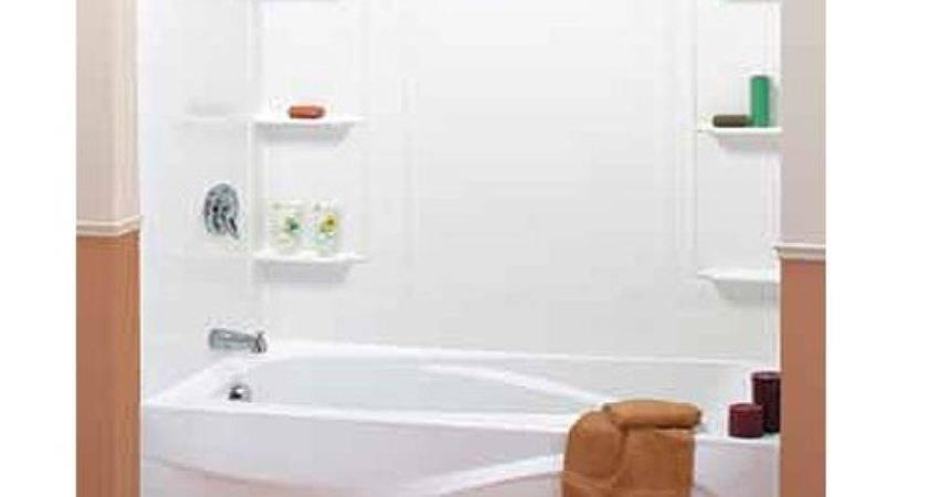 Piece Mobile Home Bathtub Surround Shelves