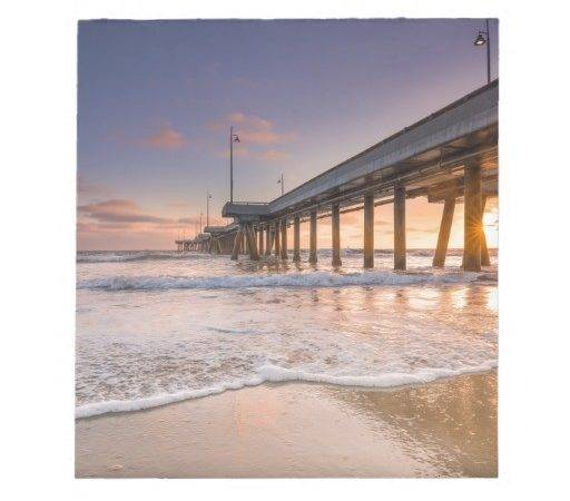 Pier Beach Note Pad Zazzle