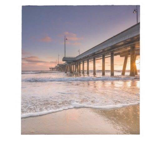 Pier Beach Note Pad Zazzle