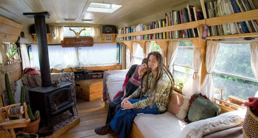 Pin School Bus Converted Into House Pinterest