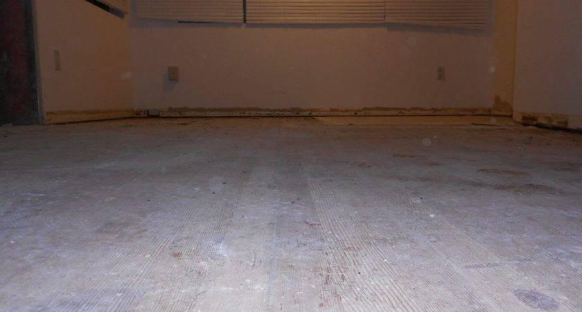 Pine Plywood Self Leveling Compound Ditra Tiling