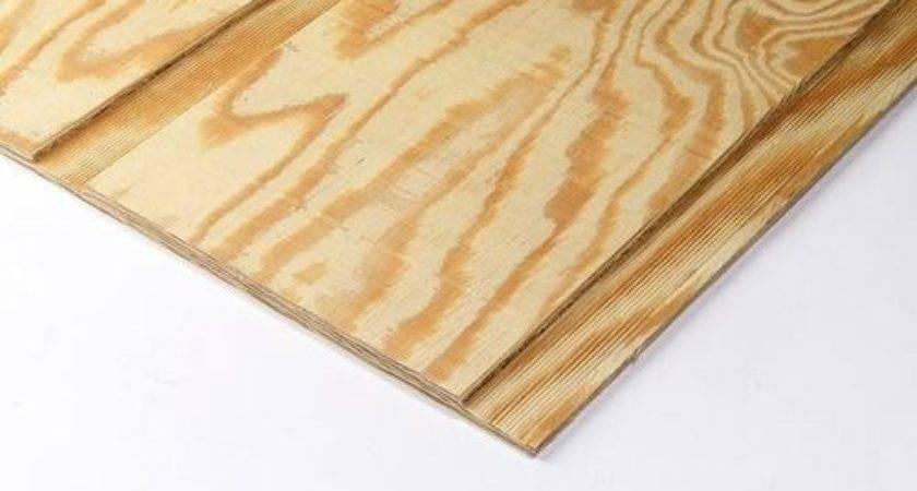 Pine Plywood Siding