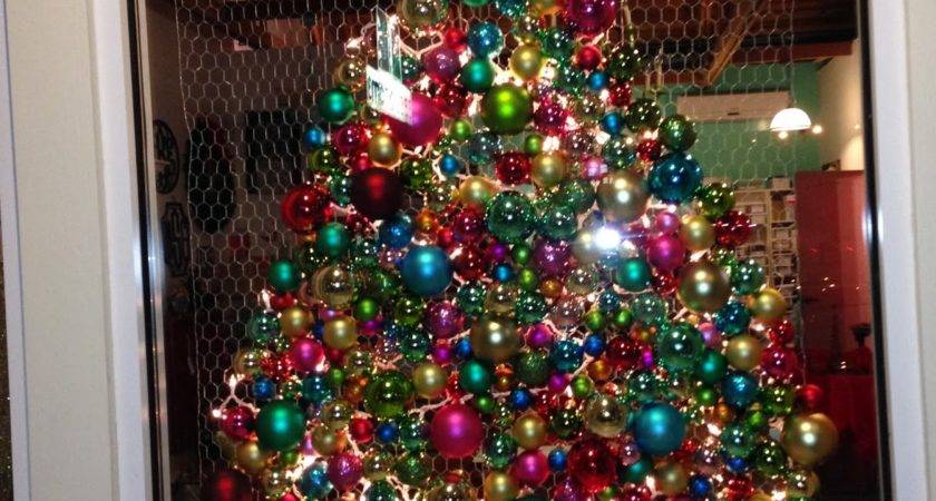 Plainjane Designs Diy Ornament Chicken Wire Christmas Tree