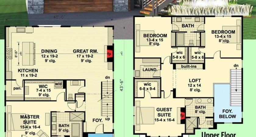 Plan Master Main Modern House