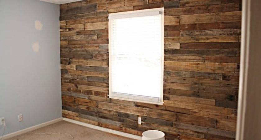 Plans Accent Wall Made Out Pallets Gentlemint